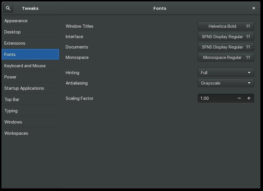Linux On Mac: Fix ugly fonts